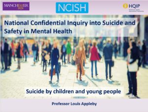 National Confidential Inquiry into Suicide and Safety in Mental Health